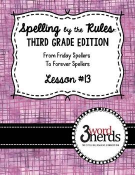 Spelling - Suffix -ed: 3 sounds - Third Grade