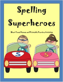 Spelling Superheroes