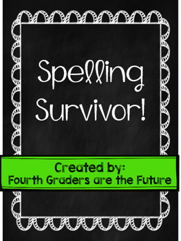 Spelling Survivor - A Review Game