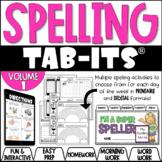 Spelling Tab-Its®