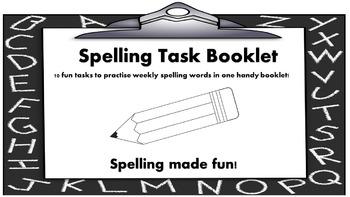Spelling Task Booklet