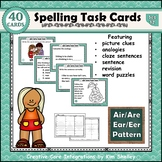 Spelling Task Cards 12 Air Are Ear Eer