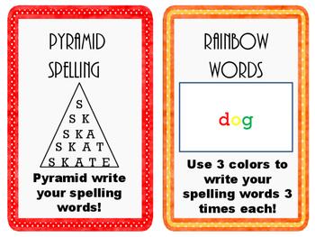 Spelling Task Cards FREEBIE