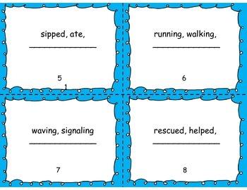 Spelling Task Cards (Reading Wonders)