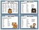 Spelling Task Cards Set 1 Short Vowel