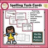 Spelling Task Cards Set 16 Oo Oo Ew Ue