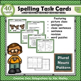 Spelling Task Cards Set 17 Plural Nouns