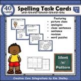Spelling Task Cards Set 2 Silent E