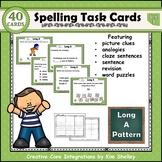 Spelling Task Cards Set 3 Long A