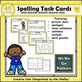 Spelling Task Cards Set 7 Wr Kn Gn