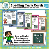 Spelling Task Cards Sets 1-5