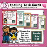 Spelling Task Cards Sets 11-15