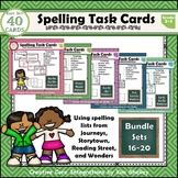 Spelling Task Cards Sets 16-20