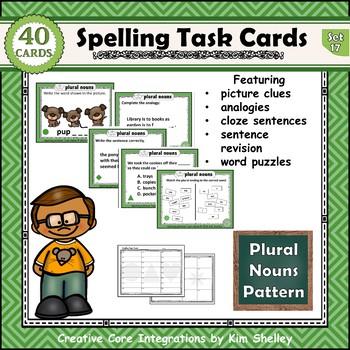 Spelling Task Cards Sets 16-20