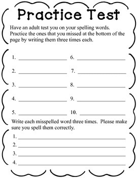 Spelling Task Cards/Choice Board