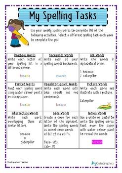 Spelling Tasks