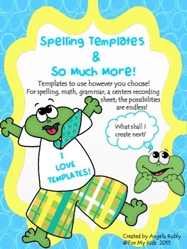 Free Spelling Test Templates