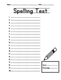 Spelling Test 1-20