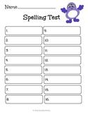 Spelling Test