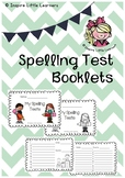 Spelling Test Booklets