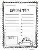 Spelling Test Freebies