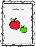 Spelling Test Lists