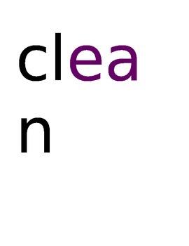 Spelling Test Long E Words