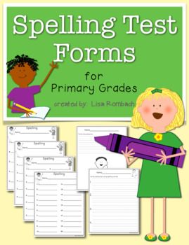 Spelling Test Master for Primary Grades