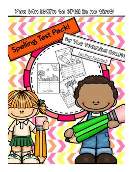 Spelling Test Pack!