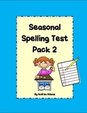 Spelling Test Pack 12 Word w/ 2 Bonus Words