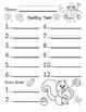 Spelling Test Pack 12 Word w/ 2 Bonus Words