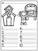 Spelling Test Paper (10 word version)