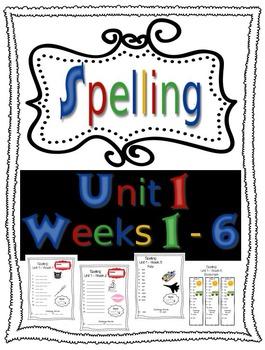 Spelling Tests 1