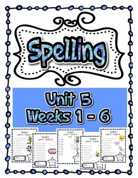 Spelling Tests 5