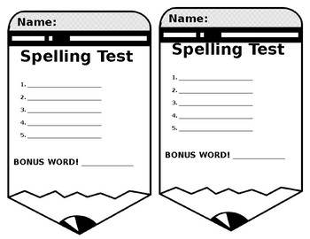 Spelling Tests