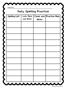 Spelling Tests and Practice Activities for Young Students