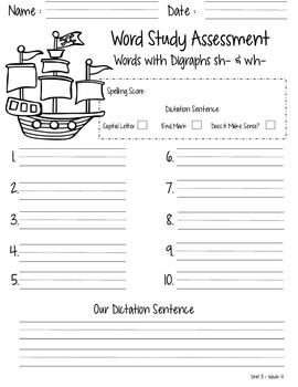 Spelling Tests for the Entire Year - First Grade - Reach for Reading