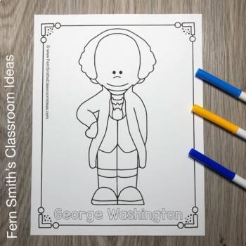 Presidents' Day Coloring Pages