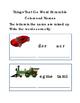 Spelling Things That Go Word Scramble Car Bus Train Rocket Bike Truck Jet 3pgs