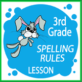 Spelling Rules Activities – 3rd Grade Language Lesson & Practice + NINE Posters