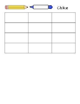 Spelling- Three Times Worksheet