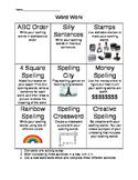 Spelling Tic-Tac-Toe 2
