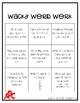 Wacky Word Work (Spelling Board)