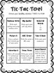 Spelling Tic Tac Toe Spelling Practice {Freebie}
