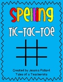 Spelling Tic-Tac-Toe {Freebie}