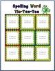 Spelling Tic Tac Toe Game