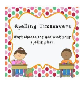 Spelling Timesavers