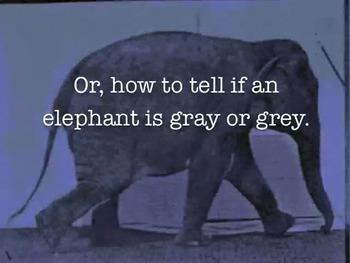 Spelling Tip: Gray vs. Grey