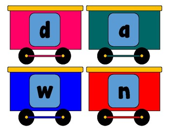 Spelling Train, 1st Grade Wonders 6-3