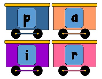Spelling Train, 1st Grade Wonders, 6-5